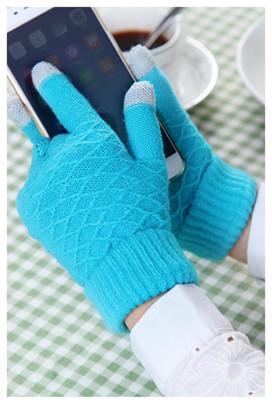 E.City 韓版可觸控手機保暖手套 (2折)