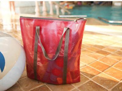 多功能防水塗布網紋手提袋 (2.8折)