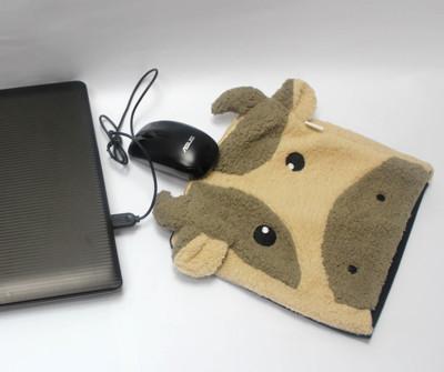 USB可愛保暖滑鼠墊 (1.8折)