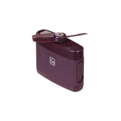 【Go Travel】迷你隨身小電扇-紫紅 (10折)
