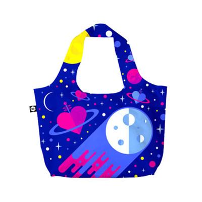 【BG Berlin】摺疊環保袋-藍色星球 (10折)