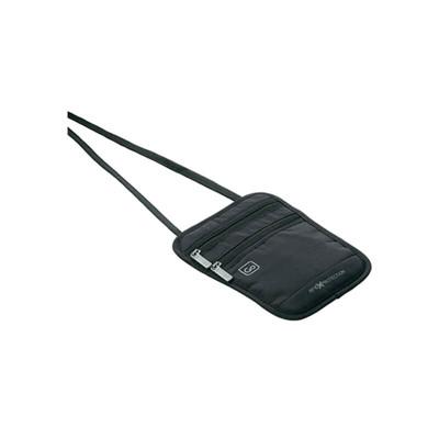 【Go Travel】RFID隱藏式貼身方形防搶包 - 黑 (10折)