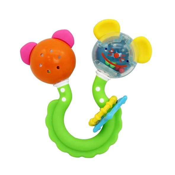 花貓搖鈴固齒玩具