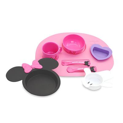 日本 迪士尼 Disney 美妮造型多功能餐具禮盒 (6.7折)