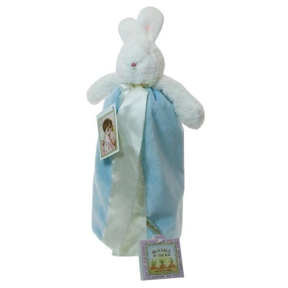 溫柔小兔就寢安撫巾(藍色)