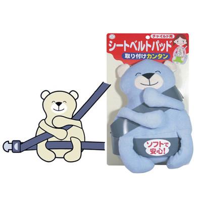 AKACHAN阿卡將 造型幼兒安全帶調整器-熊熊 (7.5折)