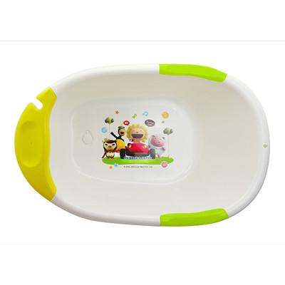 奶油獅 繽紛超優質多功能浴盆-黃 (8折)