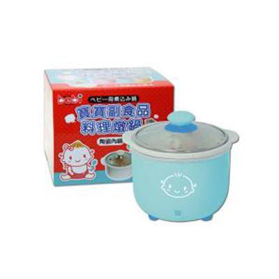 genki bebi 元氣寶寶 寶寶副食品料理燉鍋-藍 (6.1折)