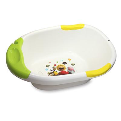 奶油獅 繽紛超優質多功能浴盆-綠 (8折)