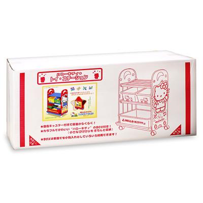 日本 迪士尼 Disney 玩具收納櫃-HELLO KITTY (7折)