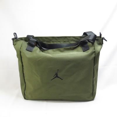 jordan 側肩包 單肩包 手提包 大容量 全新正品 jd2043022gs002 卡拉綠ispo (9折)