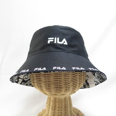 fila 寬帽簷 漁夫帽 運動帽  htv1206bk 黑色isport代購 - (9折)