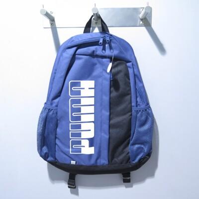 puma plus 後背包 大容量 公司貨 07574910 藍isport愛運動 (8.6折)