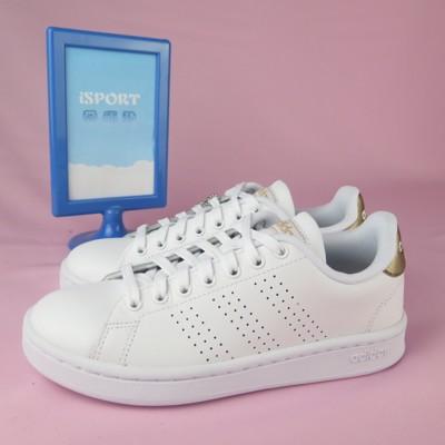 adidas 愛迪達 ADVANTAGE 休閒鞋 F36223 女款 白x玫瑰金 (8折)