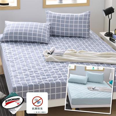 日本大和雙人防潑水抗菌床包型保潔墊枕組 一入690 二入1280 四入 2360 (4.6折)