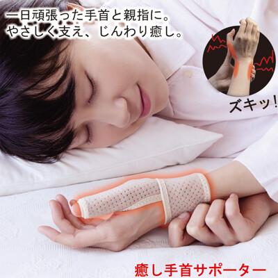 【Alphax】日本製 遠紅外線拇指護腕固定帶 (7折)