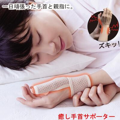 滿額贈禮【Alphax】日本製 遠紅外線拇指護腕固定帶-期間限定下殺價!