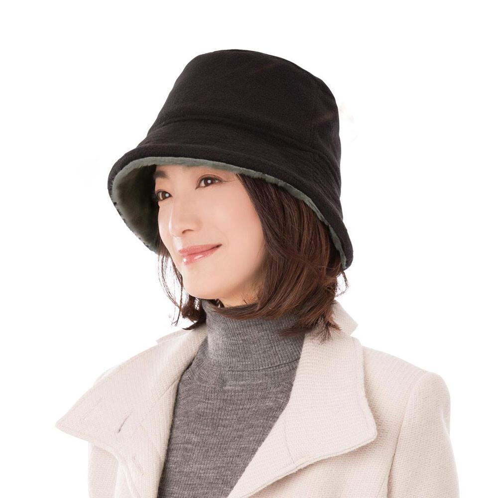 sunfamily日本進口 時尚保暖絨毛帽(共兩色)