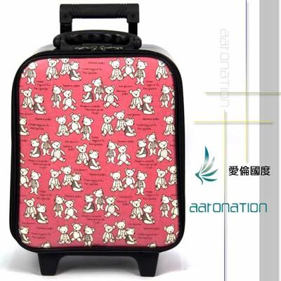 【aaronation 愛倫國度】16吋超輕量登機箱(V5-SP316-紅熊) (5折)