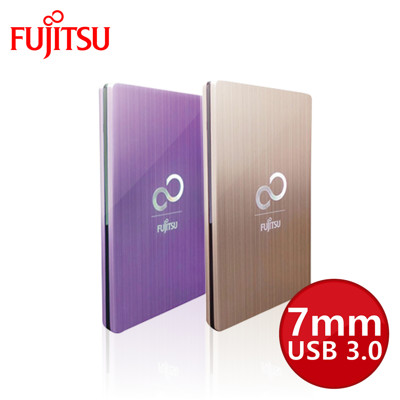 Fujitsu富士通 2.5吋 USB3.0 鋁殼髮絲紋設計 7mm 外接式硬碟盒(未含硬碟) (6.7折)