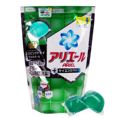 【P&G】Ariel雙倍洗衣凝膠球-抗菌除垢補充包-437g (18入) (4折)