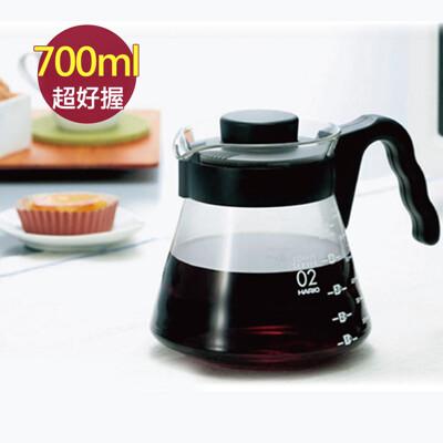 tcoffee hario v60好握02黑色咖啡壺700ml(1~5杯份) (7.6折)