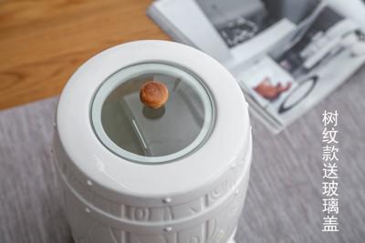 帶龍頭冷水壺 陶瓷冷水壺套裝帶水龍頭大容量水缸蓄水罐耐高溫果汁啤酒原創設計 (5折)