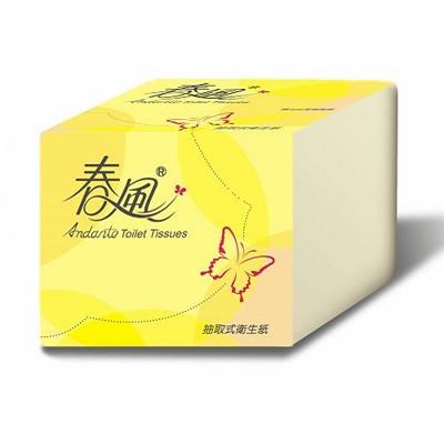 春風 單抽式衛生紙250張*48包 (8.5折)