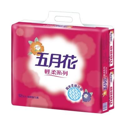 五月花 輕柔抽取式衛生紙110抽x12包x6袋/箱 (7.7折)