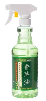 【室翲香】天然香茅油 550ml家庭號 噴頭版 熱銷 買多優惠 台灣製 驅蟲 防蚊 (5.7折)