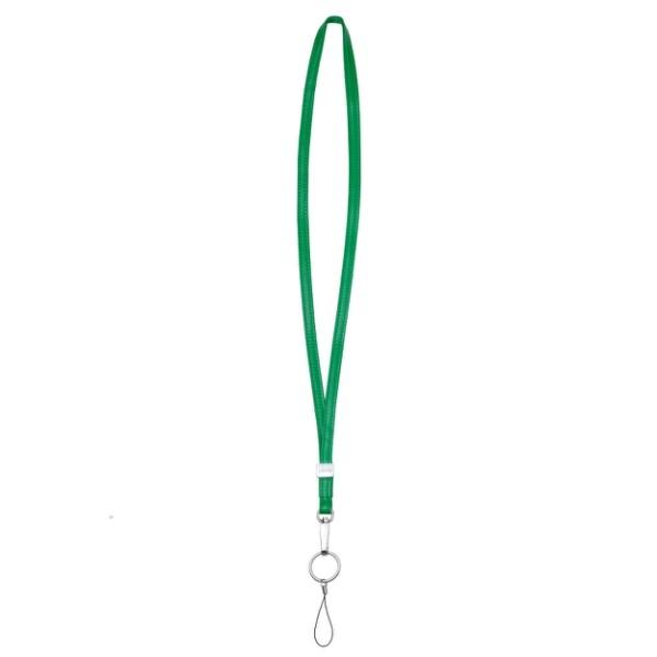 lievo accessory - 小羊皮頸繩森林綠