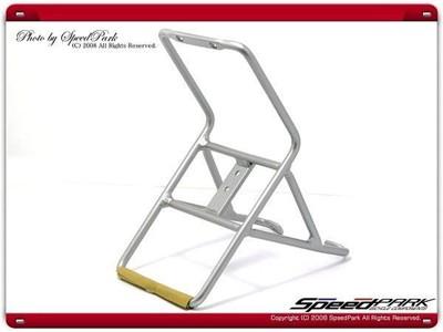 速度公園 鋁合金前貨架 菜籃支架 / 避震登山車.小徑小折有V煞孔都可用 (10折)