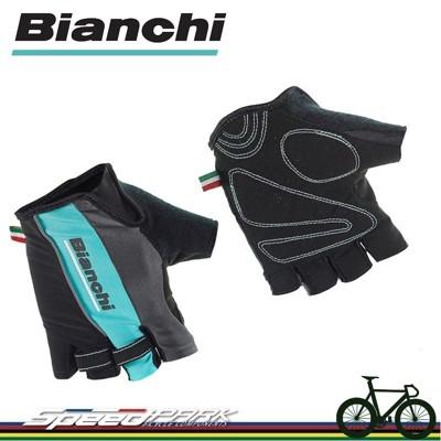 【速度公園】Bianchi Sport Line Summe 半指手套 四種尺寸 黑-精典綠 米蘭青 (10折)