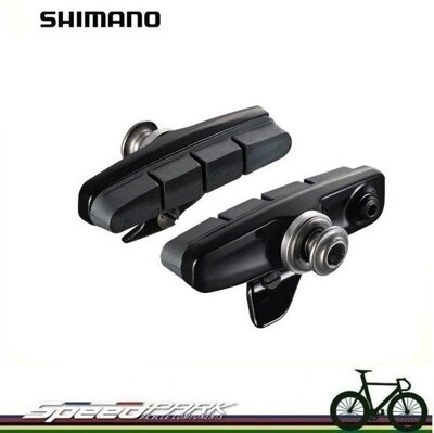速度公園 盒裝 SHIMANO DURA ACE 9000 專用煞車靴/座 BR-9100 R55C (10折)