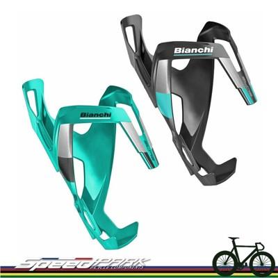 【速度公園】Bianchi Cage Vico Carbon 碳纖維 水壺架 黑/精典綠 登山車 公 (10折)