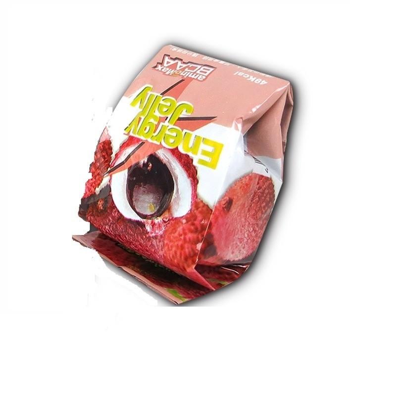 猴野人 aminomax 邁克仕 energy jelly 能量晶凍 荔枝口味 果凍 能量磚 自行車