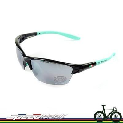 【速度公園】義大利 Bianchi FALCO 墨鏡 太陽眼鏡 雷朋/附眼鏡盒、三副鏡片/可換鏡片 (10折)
