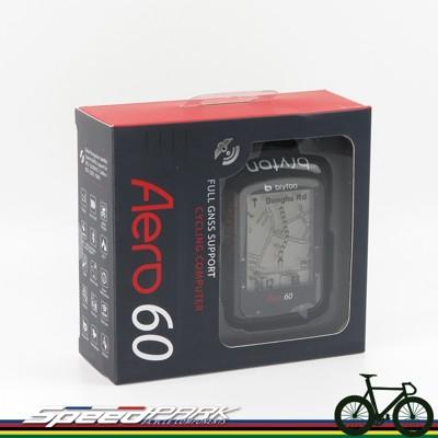 【速度公園】BRYTON Aero 60E 自行車記錄器/極度準確GPS/手機通知提醒/附USB傳輸 (7.9折)