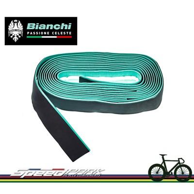 【速度公園】Bianchi CELESTE BAND 雙色拼接手把帶 順手表面 亮黑字體 把帶 把手 (10折)