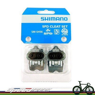 速度公園 盒裝 SHIMANO SM-SH56 SPD 多向脫卡登山車鞋底板 扣片 (10折)