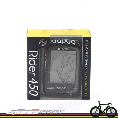 【速度公園】Bryton Rider 450E 『主機+USB充電線+安裝座+掛繩』防水 碼表 GP (10折)