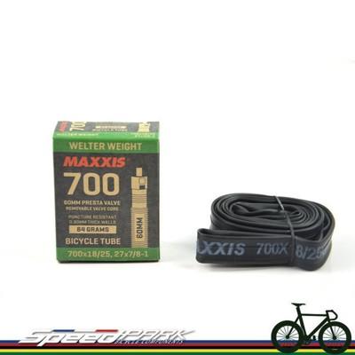 【速度公園】 MAXXIS 瑪吉斯 700x18/25C 60mm (法式氣嘴內胎) 公路車適用 8 (10折)