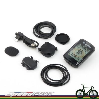 【速度公園】Bryton Rider 15C GPS自行車記錄器 (主機+無磁踏頻) USB傳輸線、 (10折)