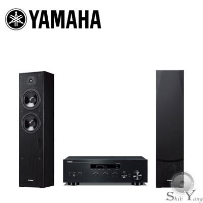 YAMAHA 兩聲道音響組合(綜合擴大機 R-N303 +落地主喇叭 NS-F51) (9.8折)