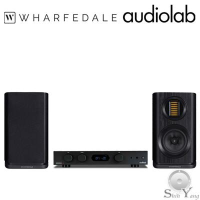 英國 Audiolab 綜合擴大機 6000A +Wharfedale 書架型喇叭 EVO 4.1 (10折)