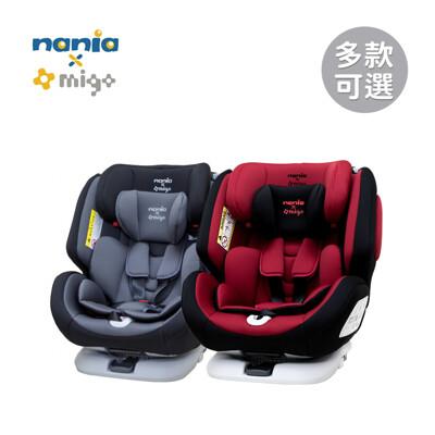 Nania X Migo 納歐聯名 法國 汽車安全座椅 360度旋轉 0-12歲 (不含頂篷)-多款 (7折)
