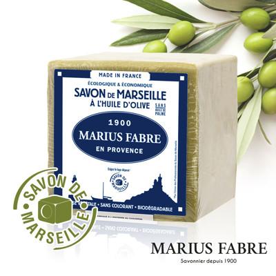 【U-GOGO 】MARIUS FABRE 法鉑 橄欖油經典馬賽皂 600g (7.5折)
