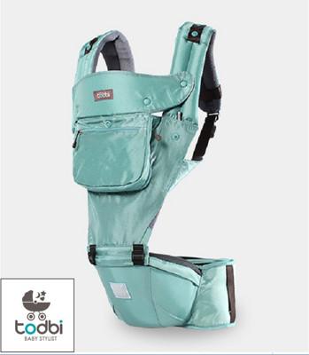 韓國 TODBI - AIR motion 氣囊坐墊式背巾-aqua mint薄荷綠 (7.1折)