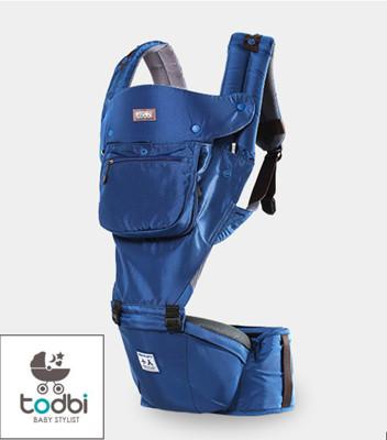 韓國 TODBI - AIR motion 氣囊坐墊式背巾-royal blue皇家藍 (7.1折)