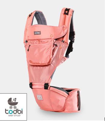 韓國 TODBI - AIR motion 氣囊坐墊式背巾-indie pink粉紅色 (7.1折)